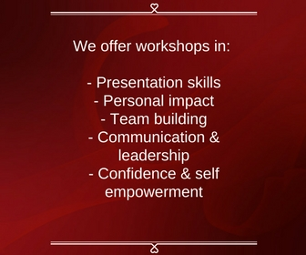 Presentation skills, personal impact, team building, communication & leadership, confidence & self empowerment,Amy Botes, RADA trained Actress and communication coach