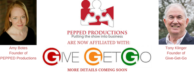 GIVE-GET-GO AFFILIATED WITH PEPPED PRODUCTIONS