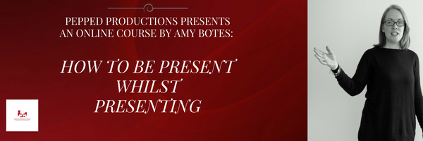 PRESENTATION SKILLS ONLINE COURSE AMY BOTES