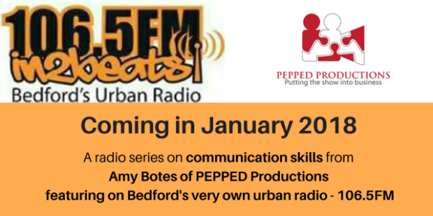 Amy Botes in2beats 106.5fm communication coach pepped productions