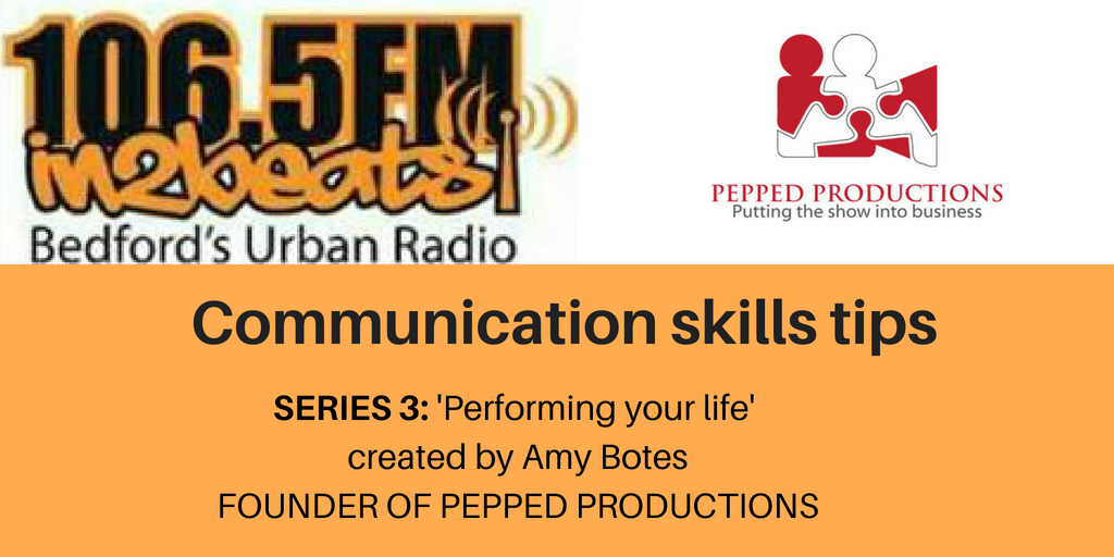 PEPPED Productions podcast - performing your life