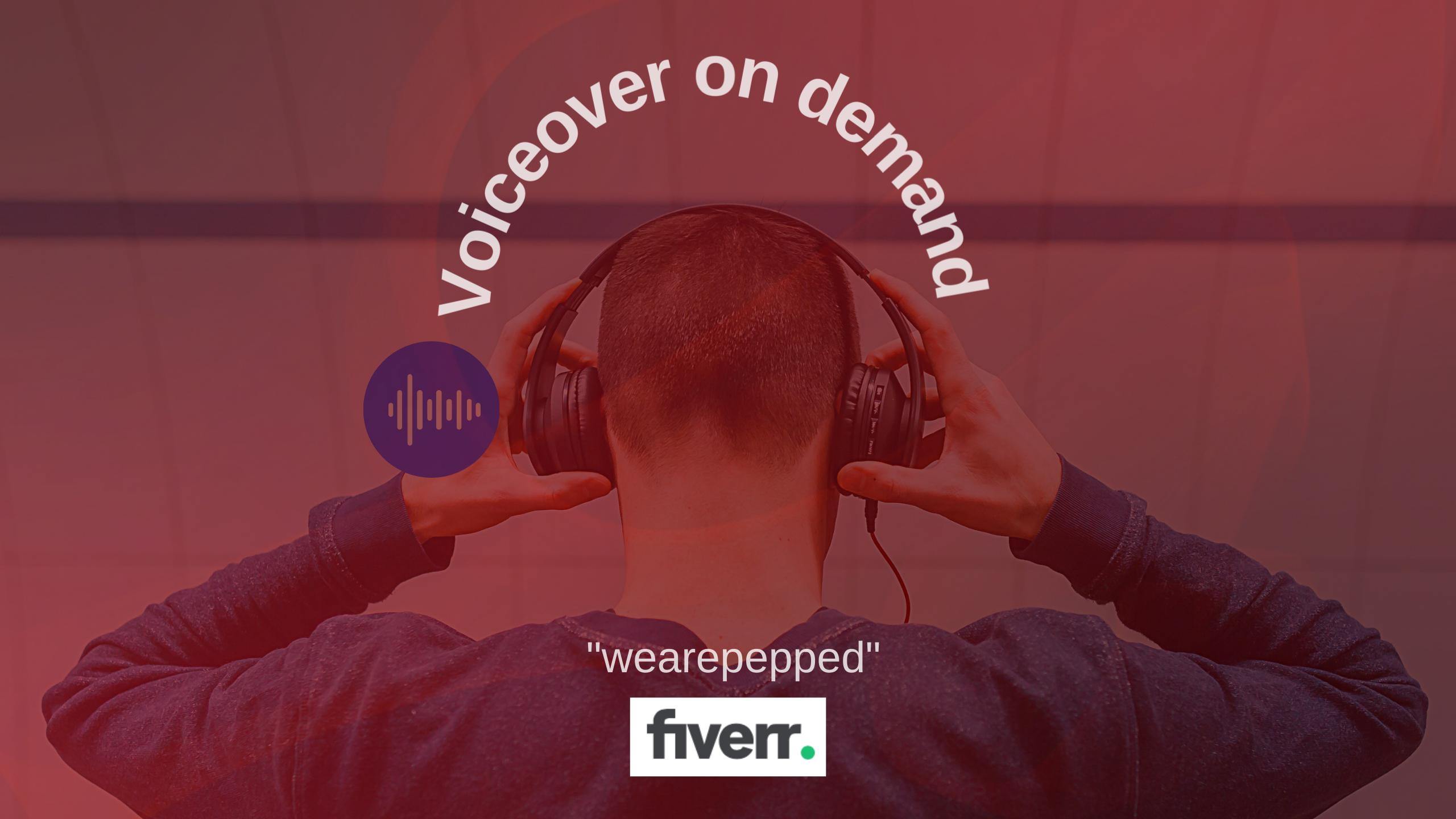 Voiceover on demand